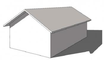 切妻屋根のイメージ画像