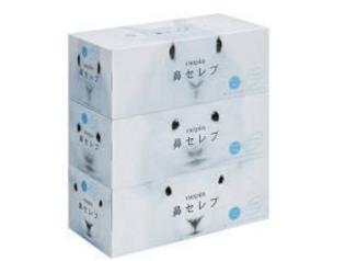 引っ越しの挨拶品の箱ティッシュの画像
