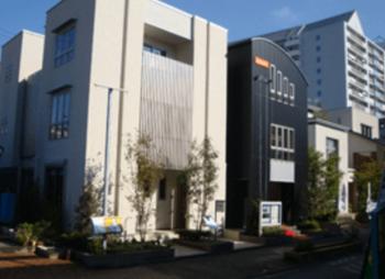 西新井住宅公園のシンプルモダンな町並みの画像