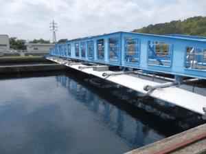 下水道のゴール浄水場の画像