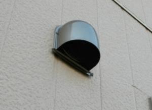 キッチン換気扇のパイプフードの画像