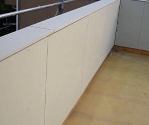 窯業系サイディングボードの無塗装板の画像