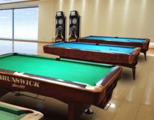 駒込の豪邸に設置されたビリヤード台のイメージ画像