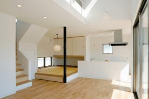 リビング階段の寒さ対策が必要な家の画像