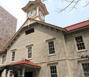 国の重要文化財・札幌時計台(ツーバイフォー工法)の画像