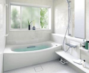浴室TOTOサザナの柔らかい床が人気の画像