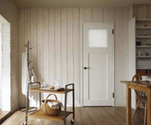 LIXILファミリーラインの内装ドアの施工例画像