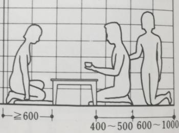 平座位での食事のイメージ画像