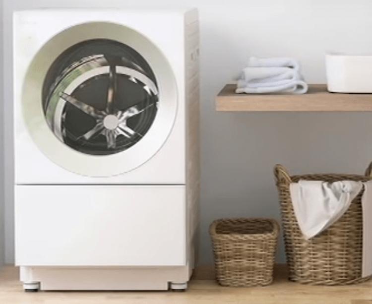 ドラム式洗濯機(パナソニックcuble)の画像