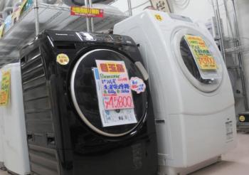 ドラム式乾燥機をリサイクルショップに売却した画像