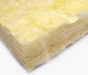 グラスウールの繊維のアップ画像