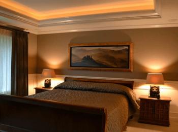 寝室の間接照明のイメージ画像