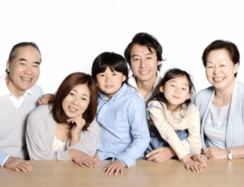 6人家族の画像
