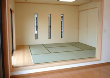 小上がり和室6畳タイプの画像