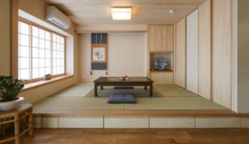 大型小上がり和室の画像