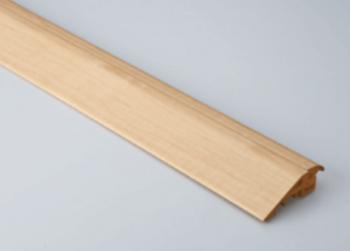 床暖房リフォームの段差解消見切り材の画像