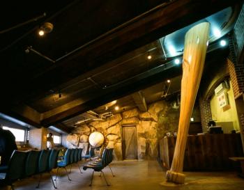 マツダスタジアムの変化のある内装画像