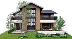 ミサワホームのCENTURY 蔵のある家の外観デザイン画像