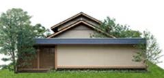 ミサワホームのCENTURY SUKIYAの外観デザイン画像