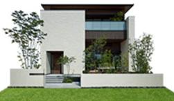 ミサワホームのGENIUS 蔵のある家の外観デザイン画像