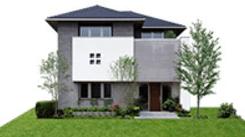ミサワホームのGENIUS VikiFEMYの外観デザイン画像