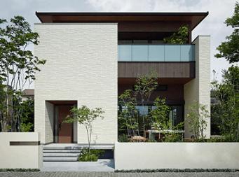 ミサワホームのGENIUSシリーズの外観デザイン画像