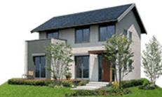 ミサワホームの鉄骨系商品HYBRID ADEARの外観デザイン画像