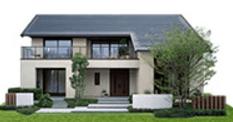 ミサワホームの鉄骨系商品HYBRID ECO Designの外観デザイン画像