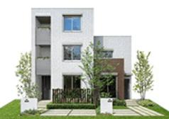 ミサワホームの鉄骨系商品HYBRID HOME plusの外観デザイン画像