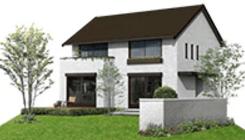 ミサワホームの鉄骨系商品HYBRID KURA Selectの外観デザイン画像