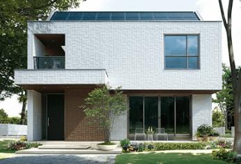 ミサワホームの鉄骨系商品HYBRIDシリーズの外観デザイン画像