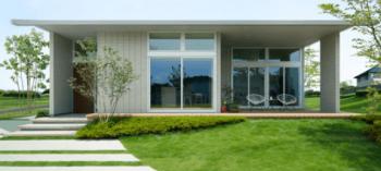 ミサワホームのグランリンク平屋の実例画像
