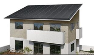 ミサワホームのMJ WOOD SOLAR MAXの外観デザイン画像