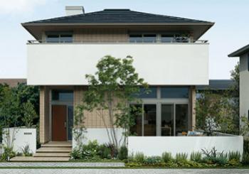 ミサワホームのSMART-STYLEの外観デザイン画像