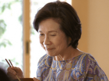 大川栄子がミサワホームCM「おばあちゃん子」篇に出演する画像