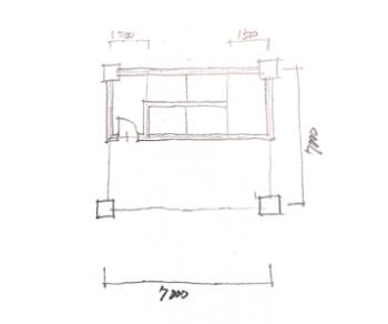一級建築士製図試験で階段を早く書く方法05