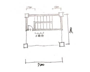 一級建築士製図試験で階段を早く書く方法06