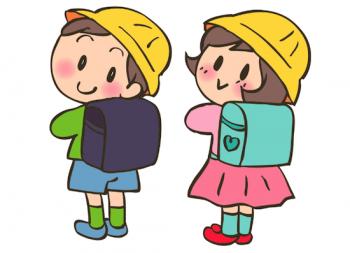 小学生のイメージイラスト画像
