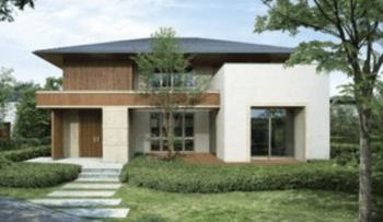住友林業のマイフォレストの外観デザイン画像