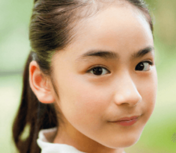 平祐奈の中学生の頃のポニーテール画像
