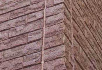 レンガタイルを模した窯業系サイディングの画像
